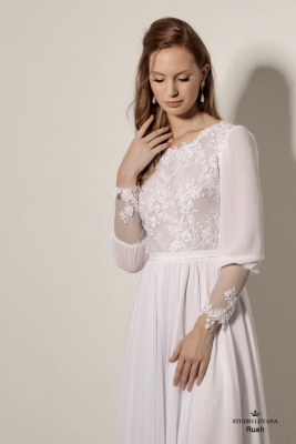 Modest wedding gowns 2018 Penelope (6)