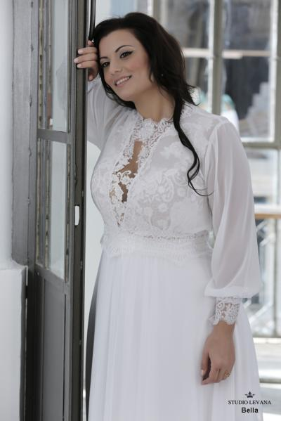 Plus size wedding gown-Blue  (1)Bella (1)