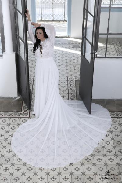 Plus size wedding gown-Blue  (1)Bella (3)