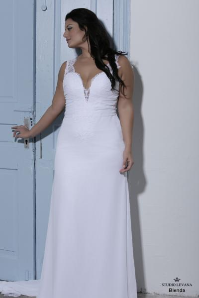 Plus size wedding gown-Blue  (1)Blenda (2)