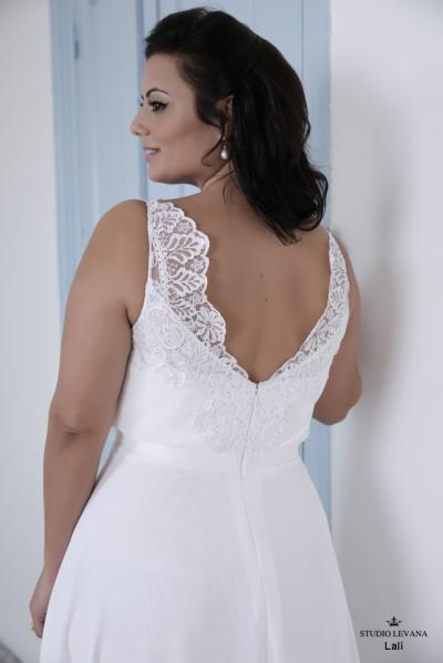 Plus size wedding gown-Blue  (1)Lally (1)