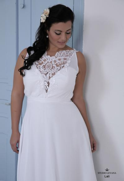 Plus size wedding gown-Blue  (1)Lally (3)