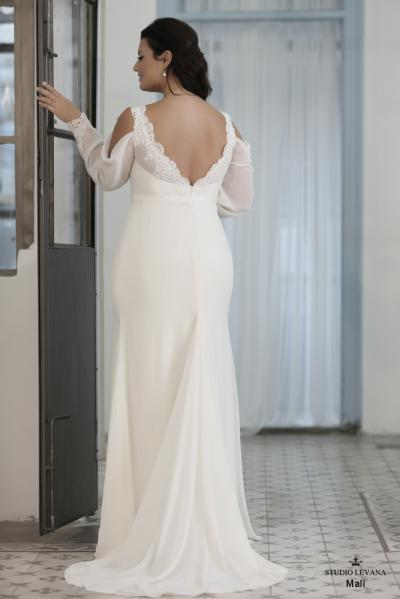 Plus size wedding gown-Blue  (1)Mali (3)