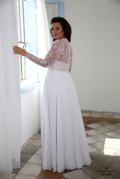 Plus size wedding gown-Blue  (1)Marisel (1)