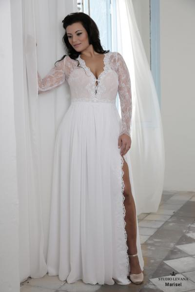 Plus size wedding gown-Blue  (1)Marisel (2)