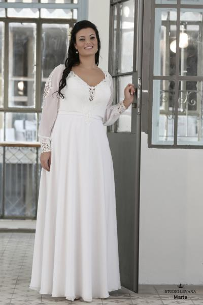 Plus size wedding gown-Blue  (1)Marta (2)