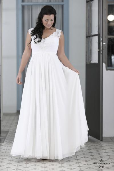 Plus size wedding gown-Blue  (1)Orel (2)