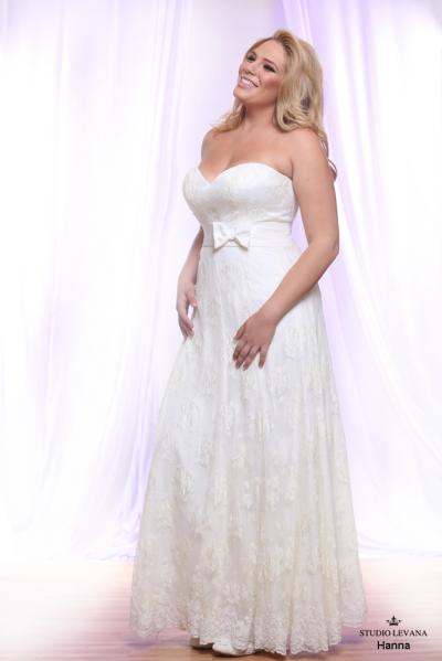 Plus size wedding gown White collection Hanna