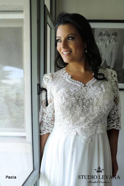 Plus size wedding gowns 2018 Paola (2)