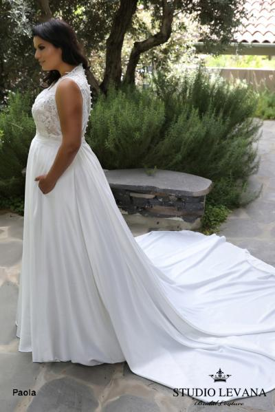 Plus size wedding gowns 2018 Paola (7)