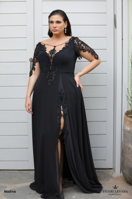 plus size evening gowns Madina (2)