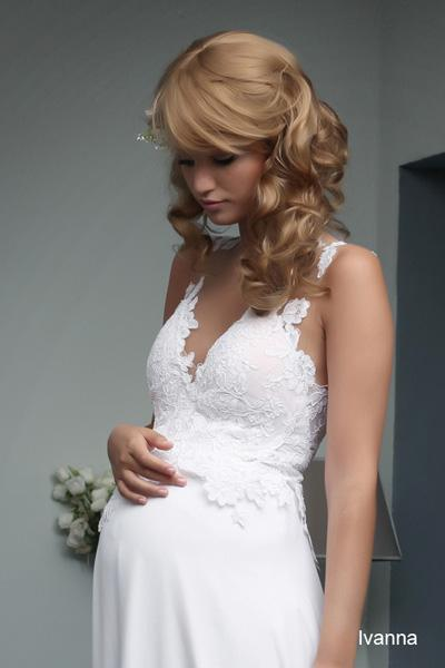 Pregnant wedding gowns 2015 ivanna (1)