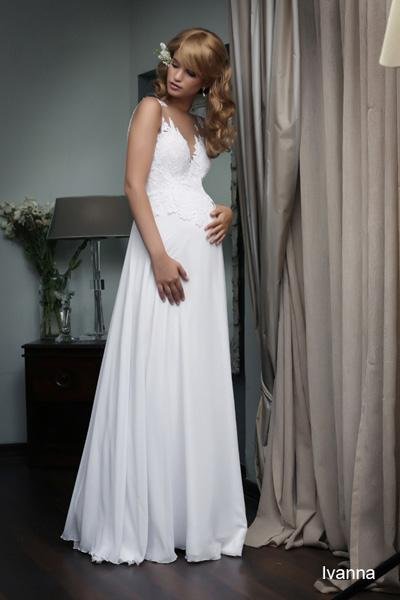 Pregnant wedding gowns 2015 ivanna (2)